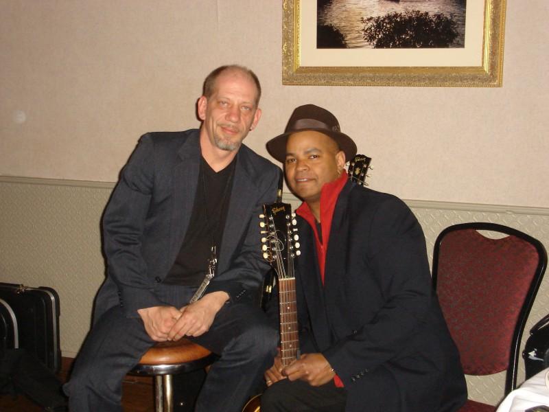 Jimi and Guy Davis